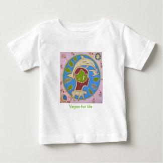 Vegan planet baby T-Shirt