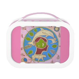 Vegan planet lunch box