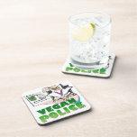 Vegan Police Drink Coasters