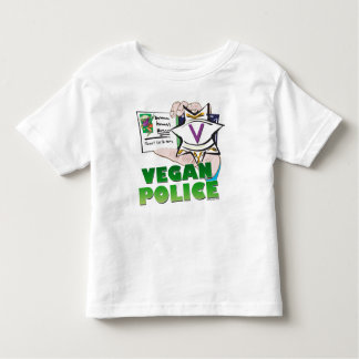 Vegan Police Toddler T-shirt