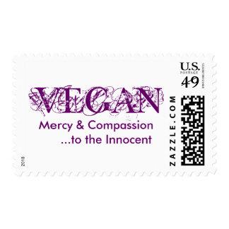 VEGAN Postage Stamp