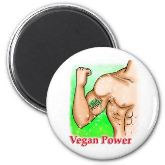 vegan power fridge magnets