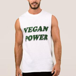 Vegan Power Sleeveless Shirt