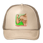 vegan power trucker hat