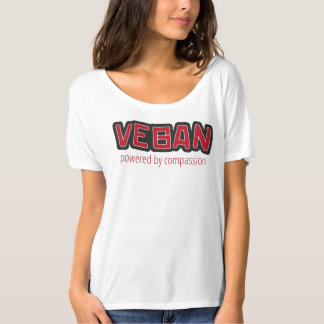 Vegan Powered by Compassion Tee Shirt
