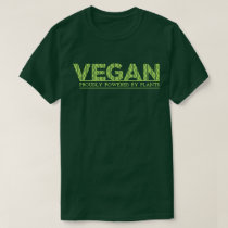 Vegan Proudly Powered by Plants Dark T-Shirt