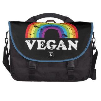 Vegan Rainbow Laptop Bag
