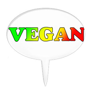 Vegan Rasta Cake Topper