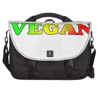 Vegan Rasta Laptop Commuter Bag