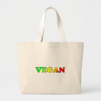 Vegan Rasta Large Tote Bag