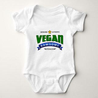 Vegan Rawsome Power Baby Bodysuit