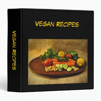 Vegan Recipes Binder