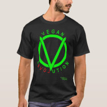 Vegan Revolution T-Shirt: by conRADICAL VEGAN T-Shirt