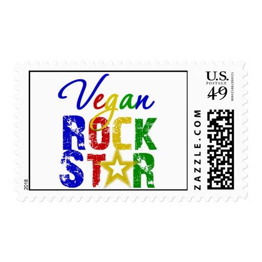 Vegan Rock Star 2 Stamp