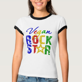 Vegan Rock Star 2 Tshirts