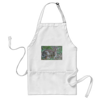 Vegan Rule #2 Obey the Bunny! Gifts & Apparel Apron