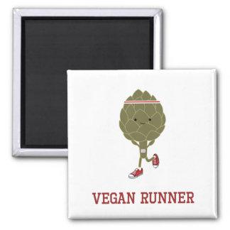 Vegan Runner Artichoke Magnet
