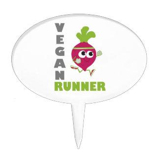 Vegan Runner - Beet Cake Topper