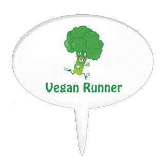 Vegan runner - Broccoli Cake Topper