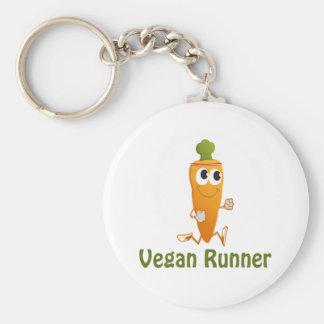 Vegan Runner - Carrot Keychain