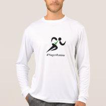 Vegan runner hashtag T-Shirt