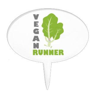 Vegan Runner - Kale Cake Topper