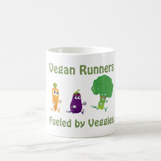 Vegan Runners - fueled by Veggies Coffee Mug