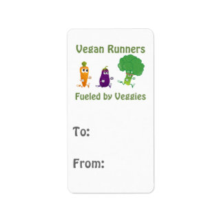 Vegan Runners - Fueled By Veggies Label