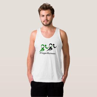 Vegan Runners hashtag Tank Top