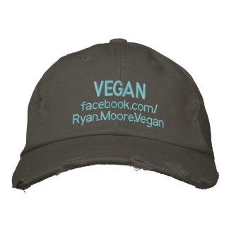VEGAN Ryan.Moore.Vegan Embroidered Baseball Hat