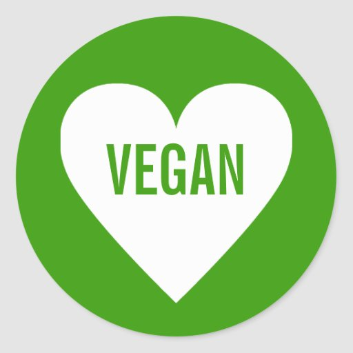 Vegan Safe Culinary Label Stickers