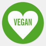 Vegan Safe Culinary Label Stickers