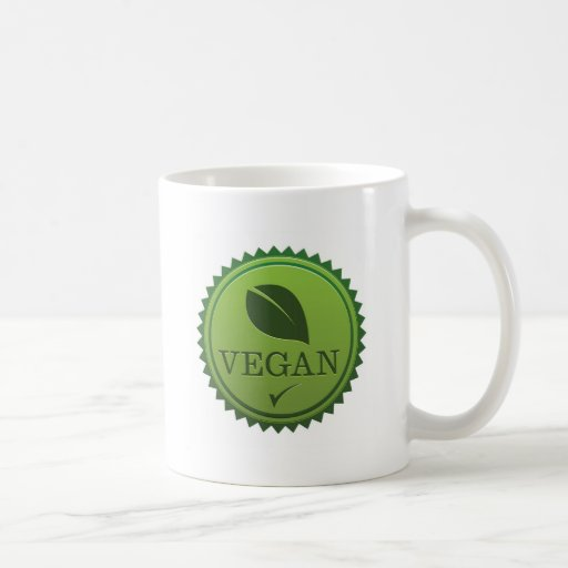 Vegan Seal Classic White Coffee Mug