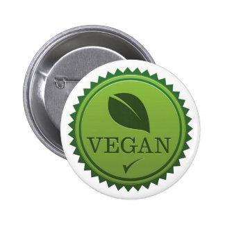 Vegan Seal Pinback Button