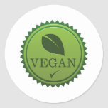 Vegan Seal Sticker