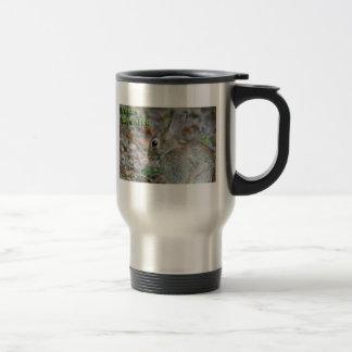 Vegan Serenity Bunny Coffee Mugs