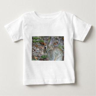 Vegan Serenity Bunny T Shirt