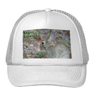 Vegan Serenity Bunny Trucker Hats