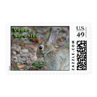 Vegan Serenity Bunny USPS Postage