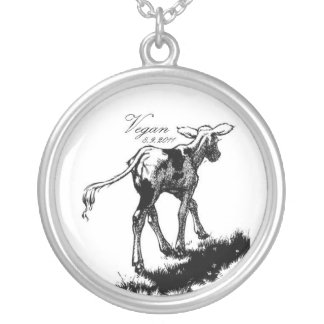 Vegan Silver Plated Necklace