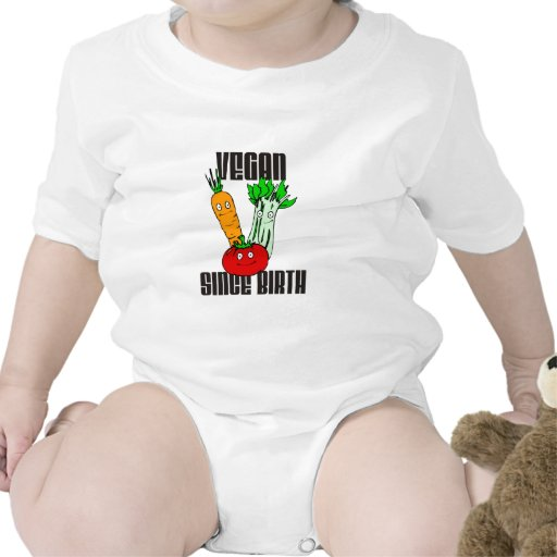 Vegan Since Birth Bodysuits
