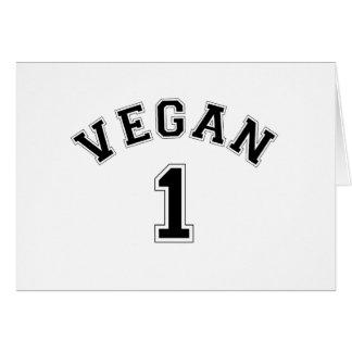 Vegan Sports Logo Card
