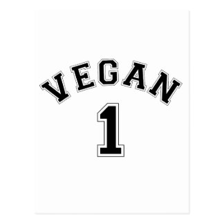 Vegan Sports Logo Postcard