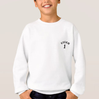 Vegan Sports Logo Sweatshirt