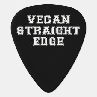 Vegan Straight Edge Guitar Pick