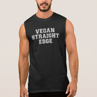 Vegan Straight Edge Sleeveless Shirt