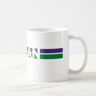 Vegan Stripes Coffee Mug