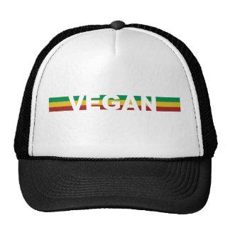 Vegan Stripes Rasta Hats