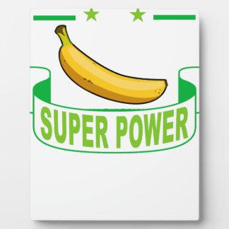 VEGAN SUPER POWER . PLAQUE