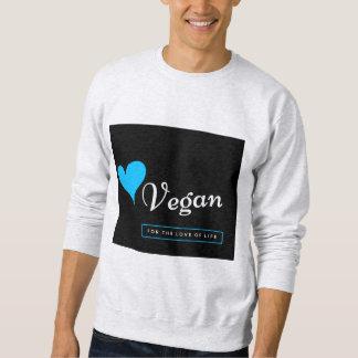 Vegan sweatshirt for men/women - love life